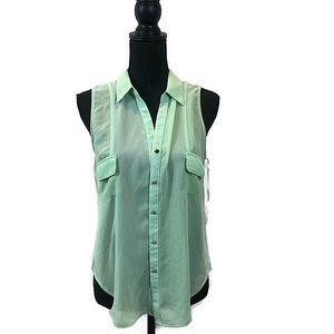 Love culture button down blouse